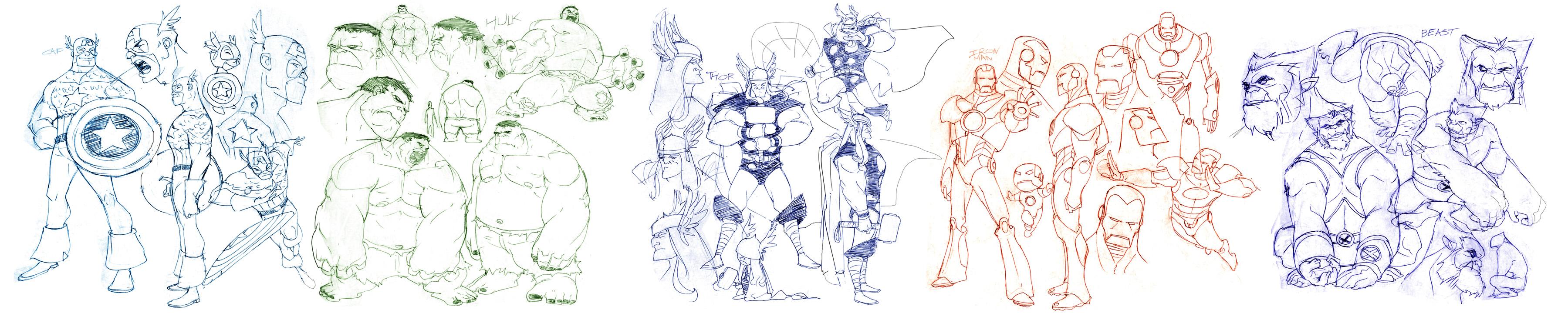 Marvel designs 3 by greenestreet