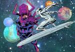 Galactus and his reblious minion