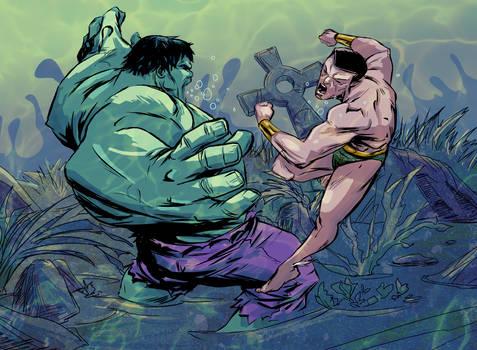 Hulk VS Sub