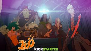 KICKSTARTER: 1000 animated project