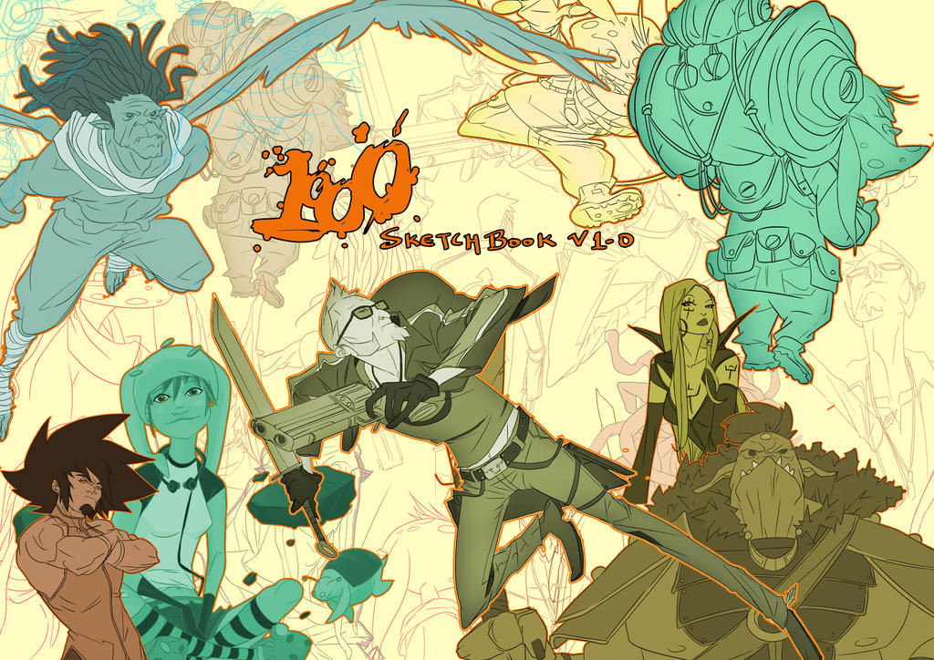 1000 Groundworks (Digital) Sketchbook Cover by greenestreet