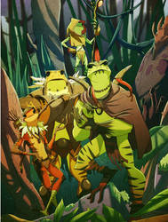Amy of Frogs: The Kulipari