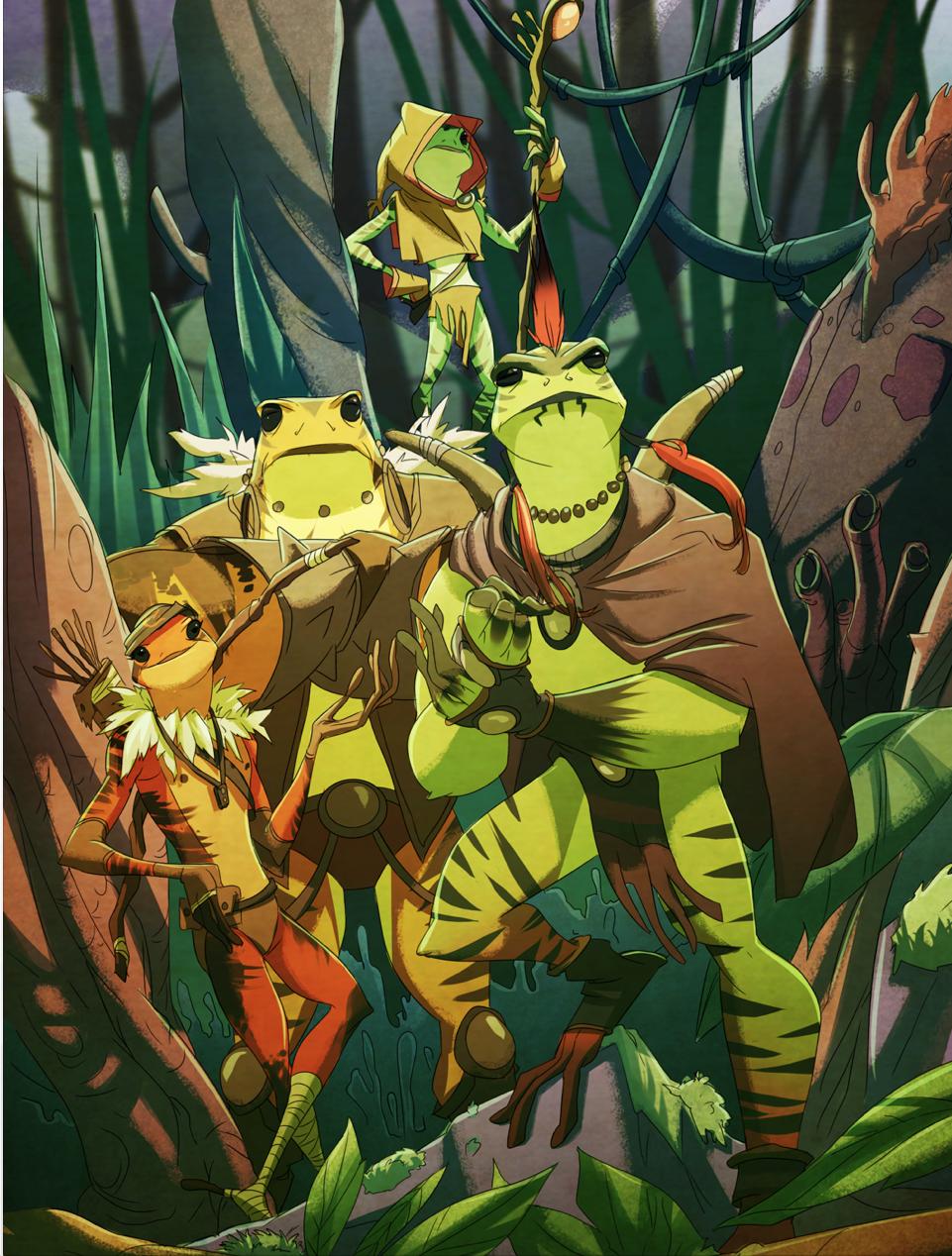 Amy of Frogs: The Kulipari by greenestreet