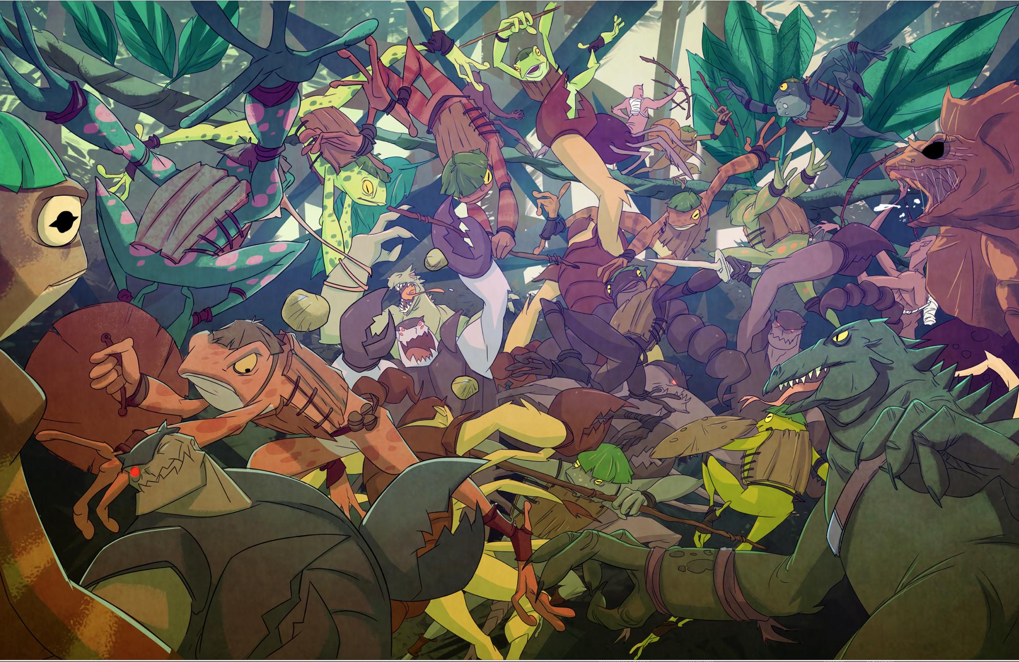 The Great Battle by greenestreet