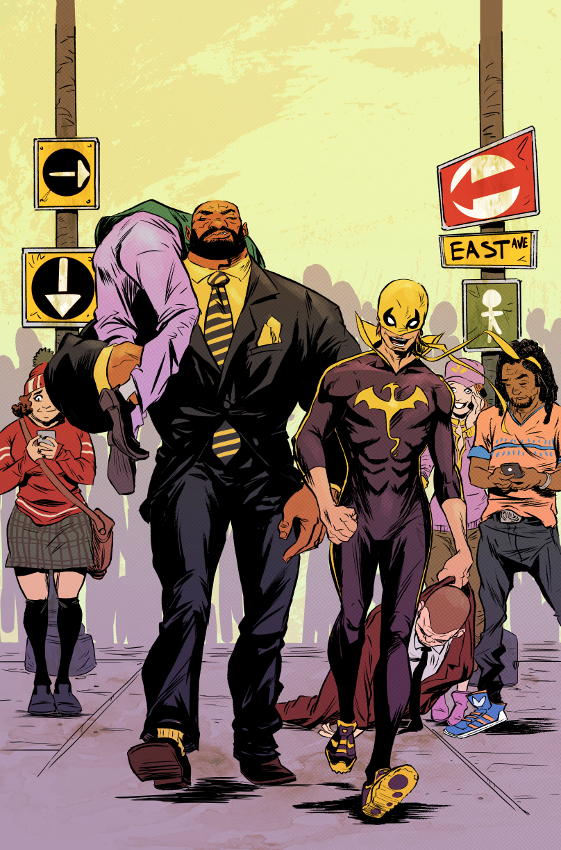 Powerman N Iron Fist COVER #2