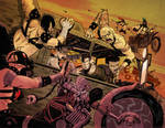 Fury Road for MAD MAX tribute book.