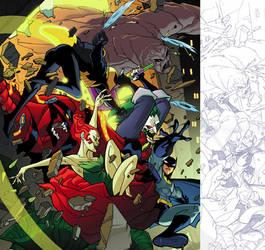 Batman Strikes issue 32 by greenestreet