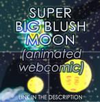 super big blush moon