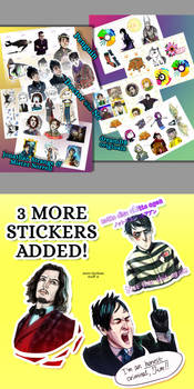 STICKERS GIVEAWAY