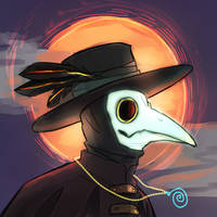 Plague doctor by ajcrwl