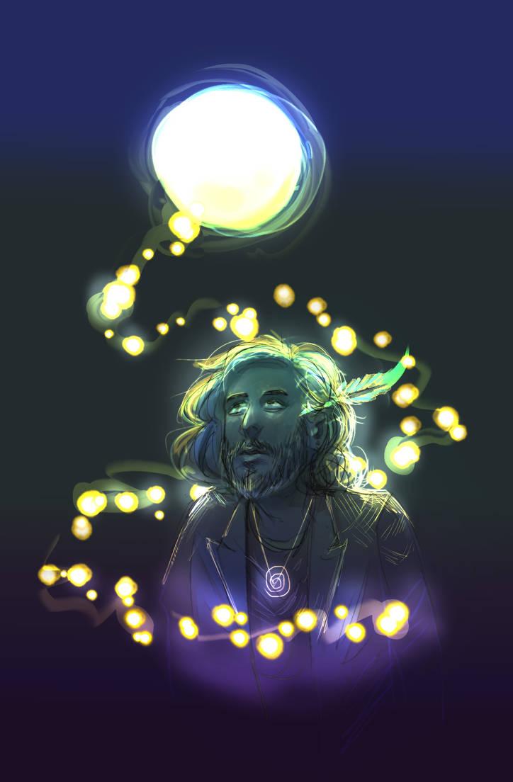 moon jesus (wip?) by ajcrwl