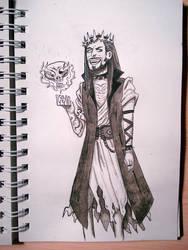 Demon Jesus, inktober2019 5/31