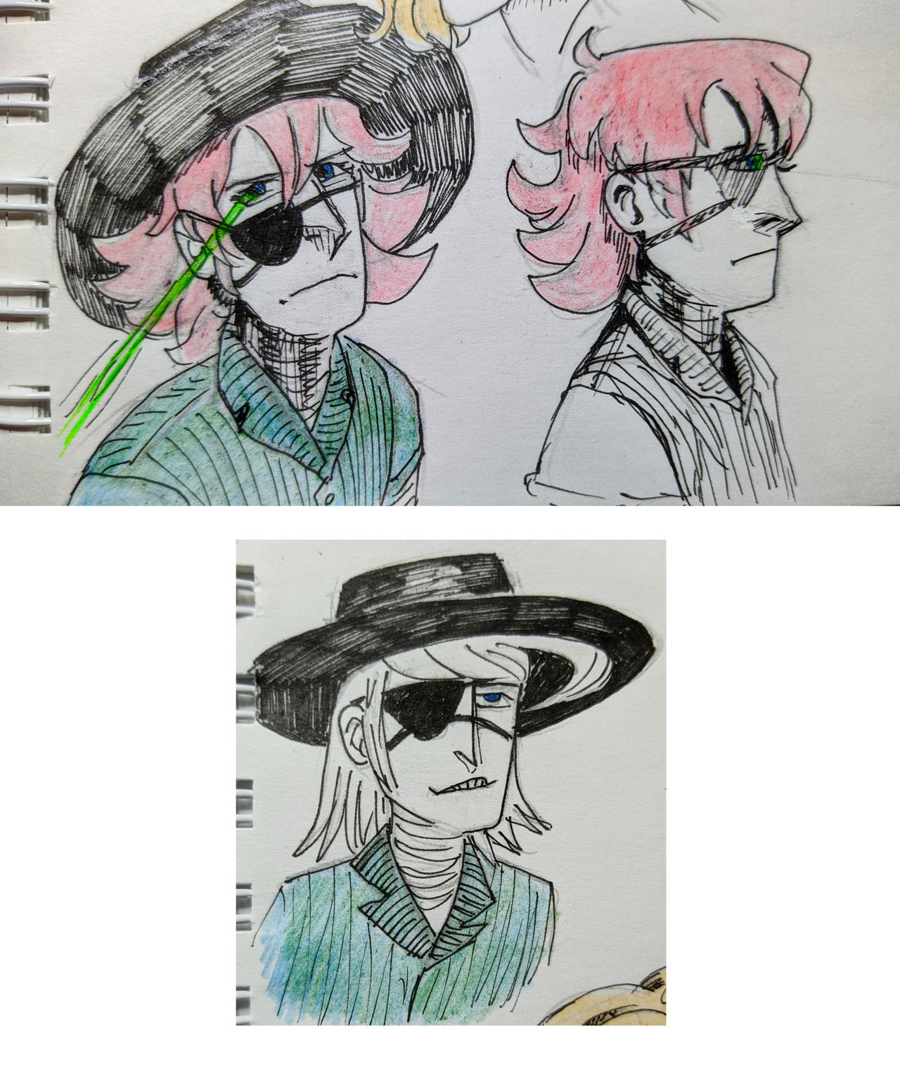 Miller pencil sketches (2020 art)
