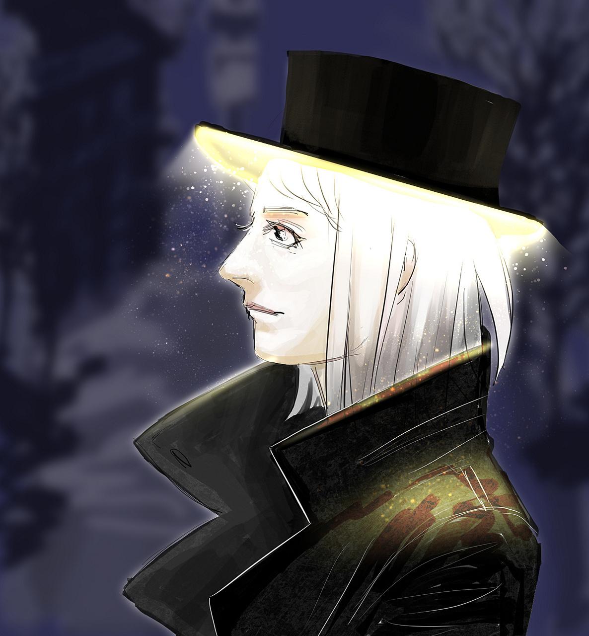 Rin's halo hat
