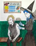 October Embers, day 15, Antivenom(ish)