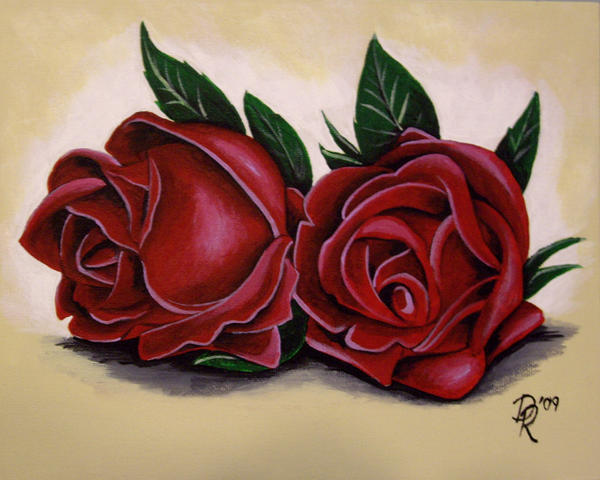 Roses by DanielleHope
