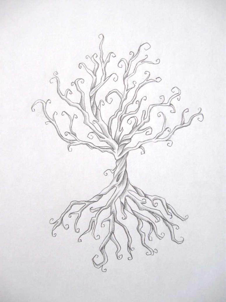 Tree Tattoo by DanielleHope