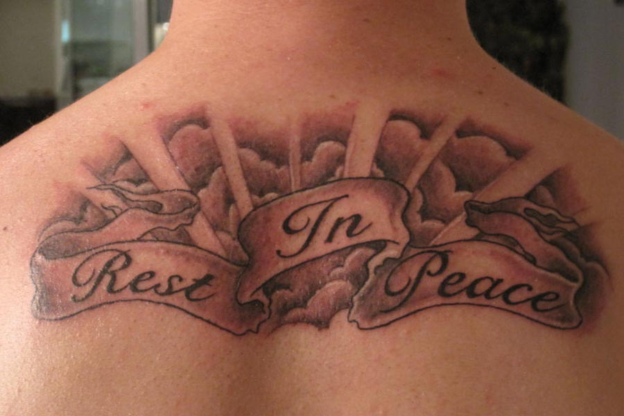Rest in peace by daniellehope on deviantart for Rest in peace baby tattoos