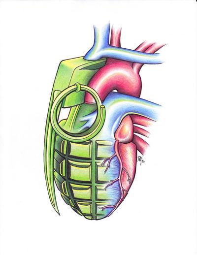 Heart Grenade by DanielleHope