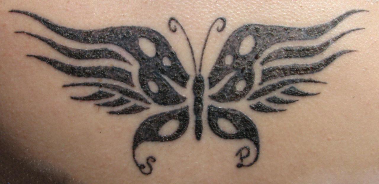Phoenix Butterfly Tattoo by