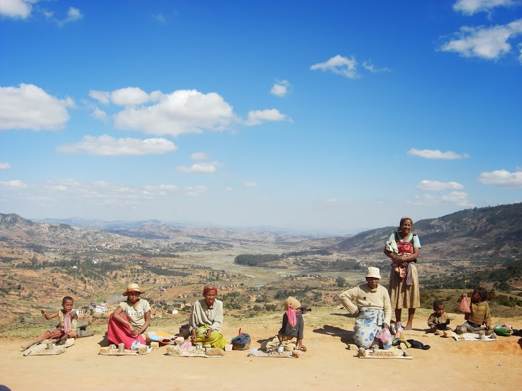Roadside Vendors of Madagascar by GreenDragon42