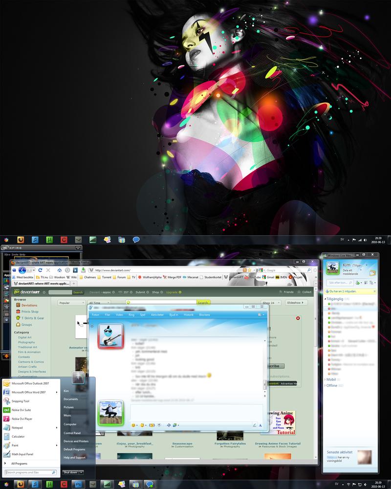 My Desktop - June '10 by appoc
