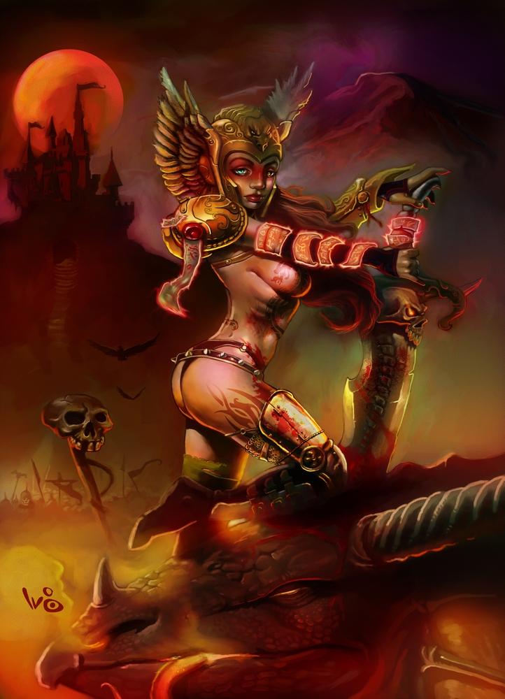 Dragon Slayer by WaltBarna