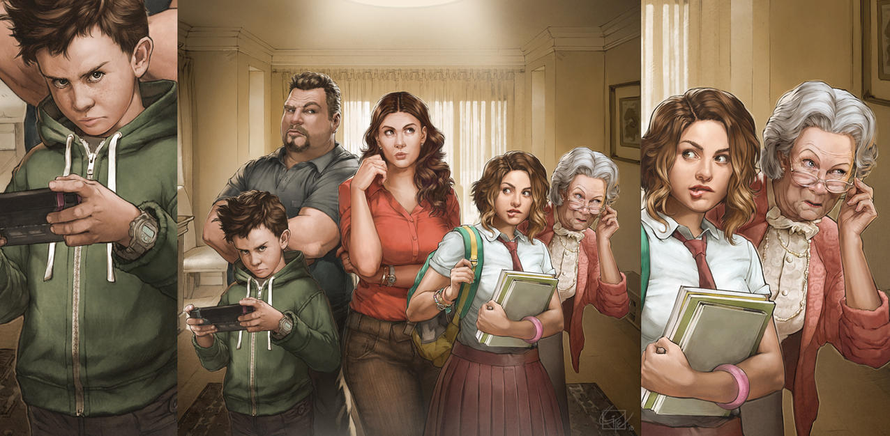 The Family Conspiracy by Giye