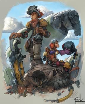 ROBOT HUNTERS