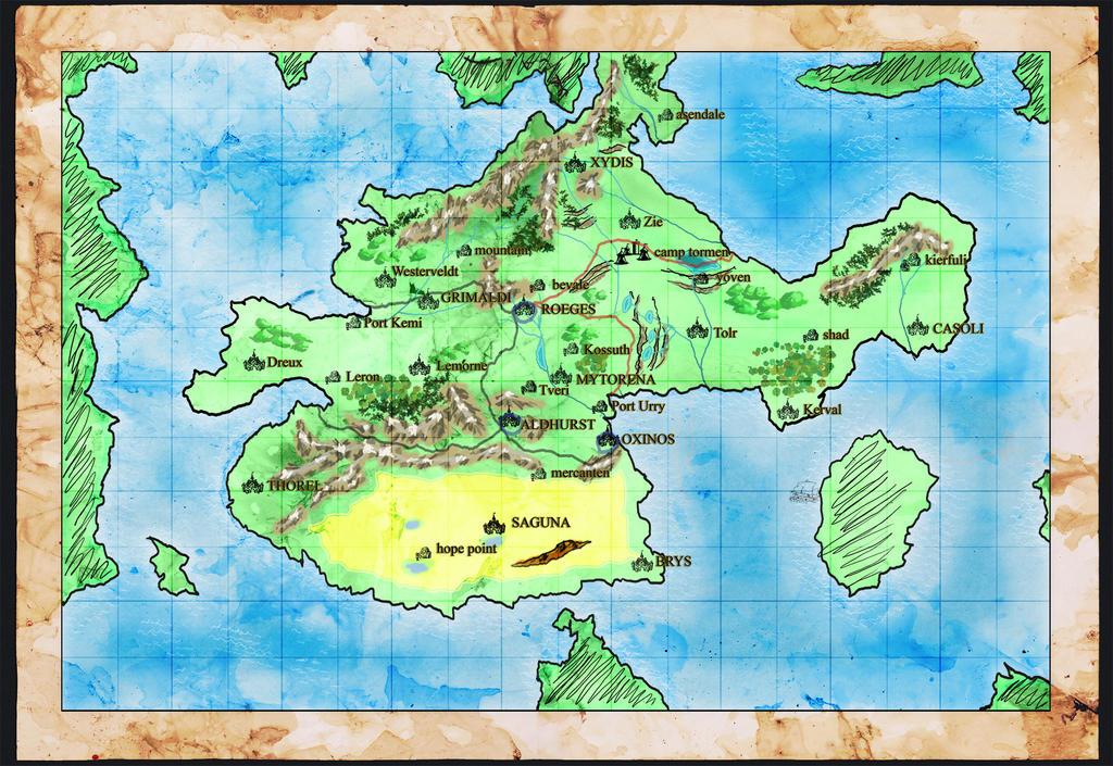 Prae Map Finished by BoyWonderRobin