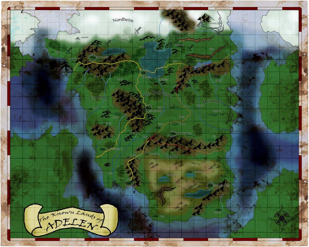 The Known Worlds of Adelen by BoyWonderRobin
