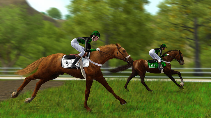A Race Is On by BoyWonderRobin