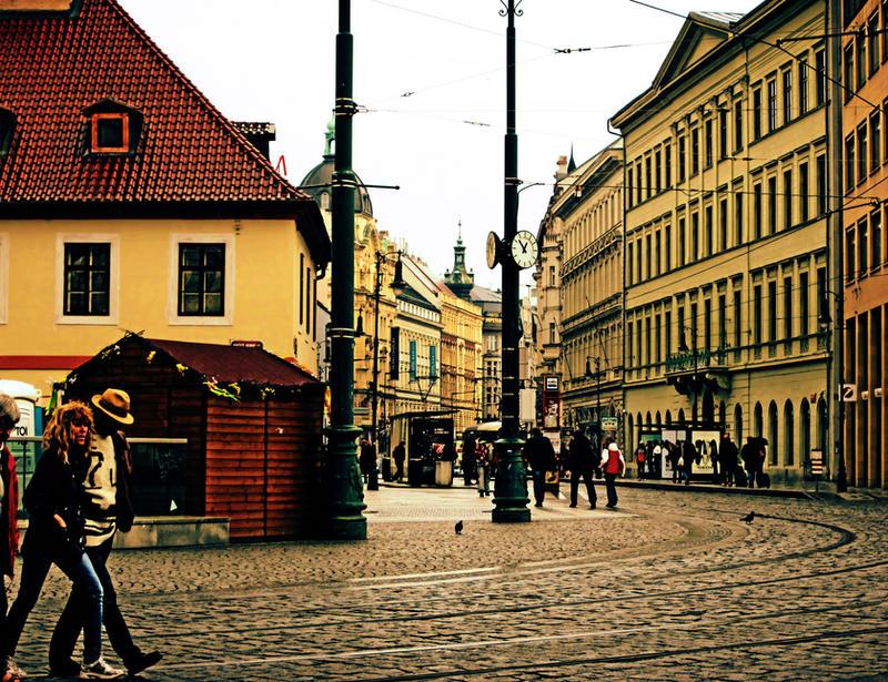 In Prague in colour by soultaker82