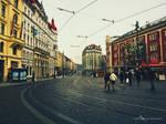 Let's take a walk in Prague - colour