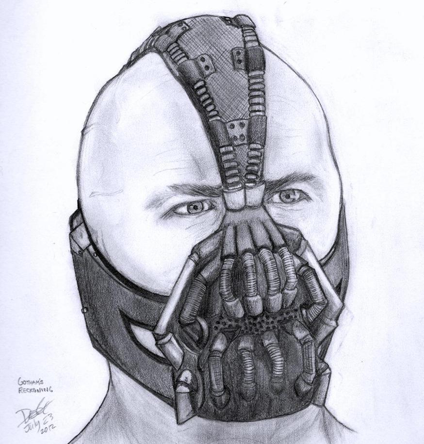 Bane pencil drawing by dariusvincenthughes on DeviantArt
