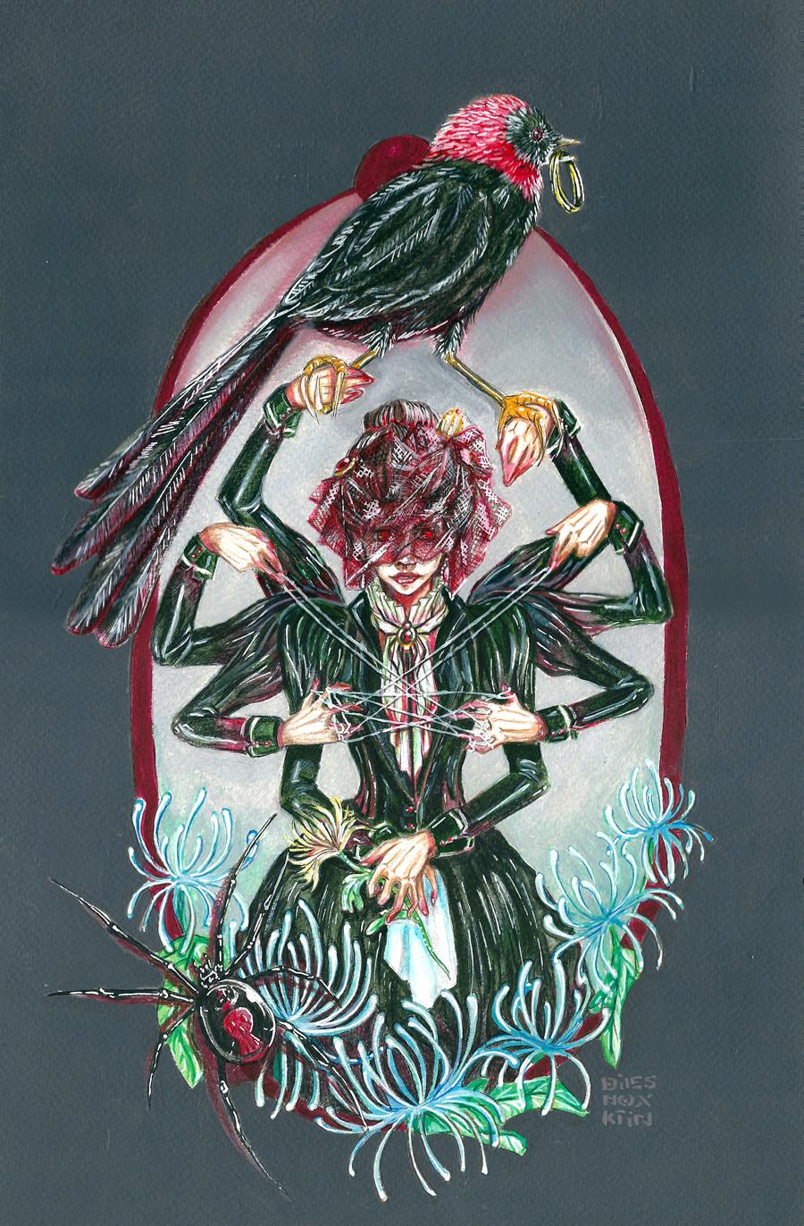 Black Widow by dies-nox-ktin