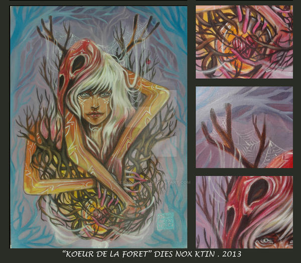 Forest Heart by dies-nox-ktin