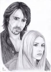 my fav vampire couple by Izmara