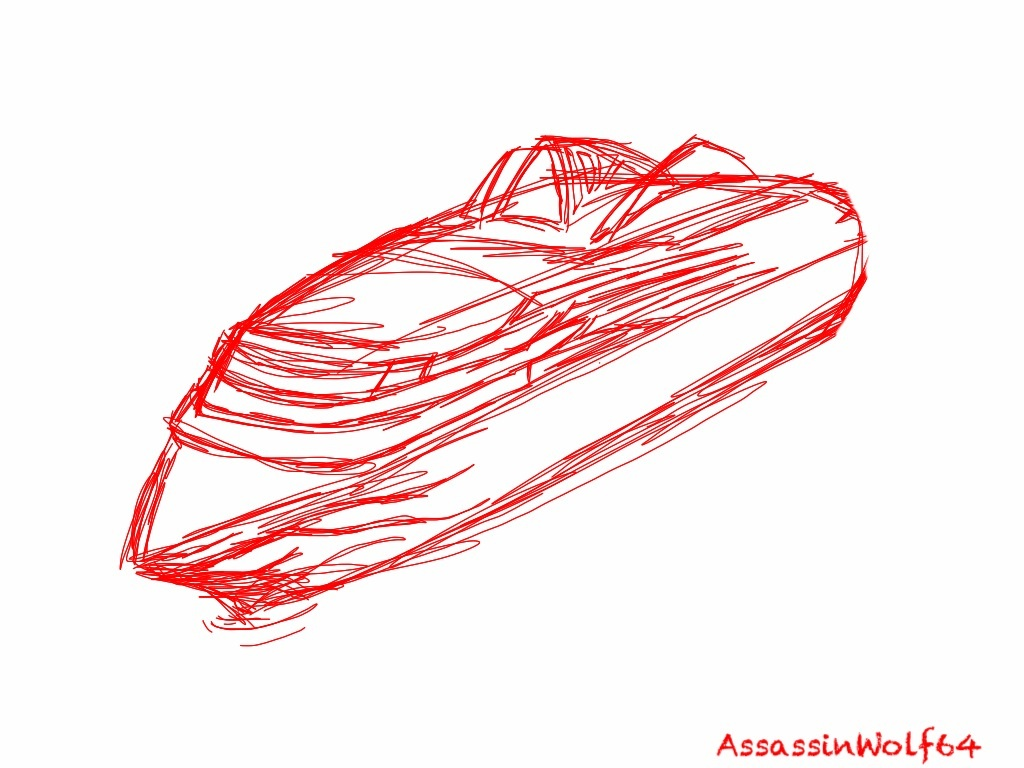 cruise ship sketch by assassinwolf64 on deviantart
