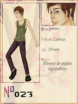 [ Number404] Lukras Ynrim