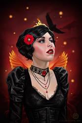 Dark Phoenix by dviart