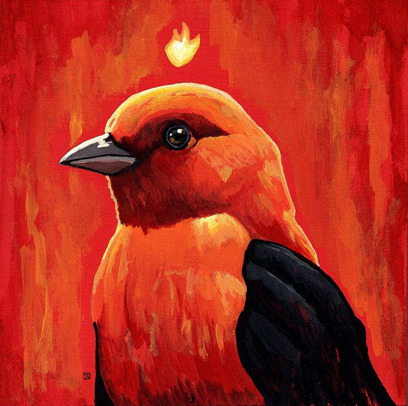 Firebird by dviart