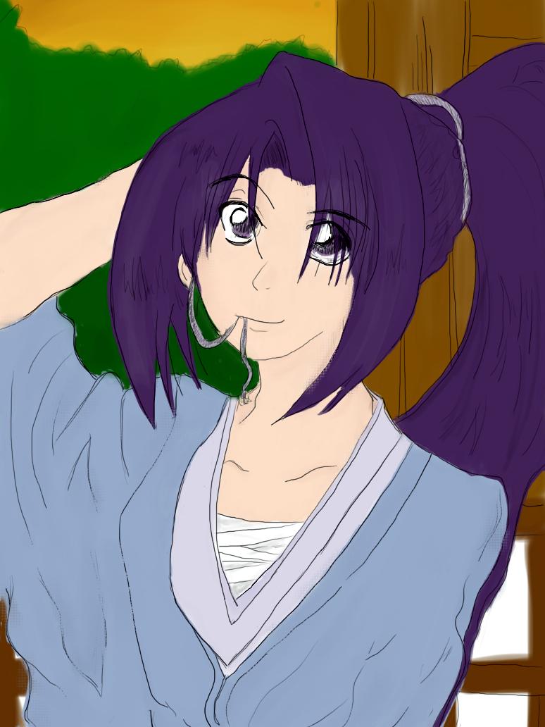 Line Art Xl 2010 : Okita soji color by huggle muffin on deviantart