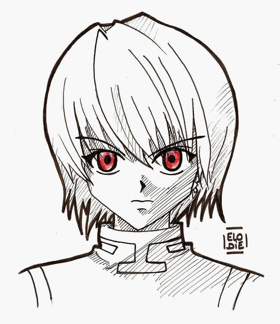 It is a picture of Genius Hunter X Hunter Xname Drawing