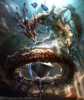 Absorbed dragon 1 by kazashino