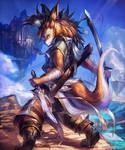 Wolf Fang Swordsman / Brave dog soldier