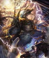 lightening dragon 1 by kazashino