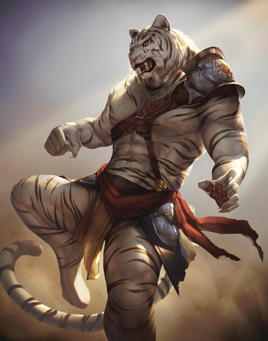 Werewolf vs weretiger - photo#21