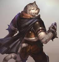 the Mercenary of beast (from Grimoire of Zero) by kazashino