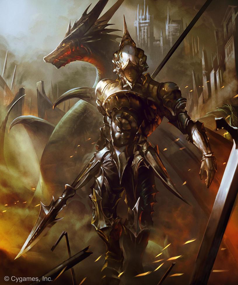 Aldos, Imperial Dragoon by kazashino